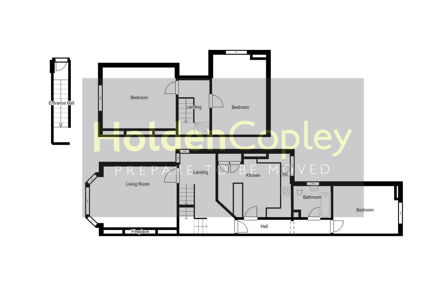 Floorplan for Lucknow Avenue, Mapperley Park,  Nottinghamshire, NG3 5BB