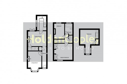 Floorplan for Woodland Grove, Colwick, Nottinghamshire, NG4 2GG
