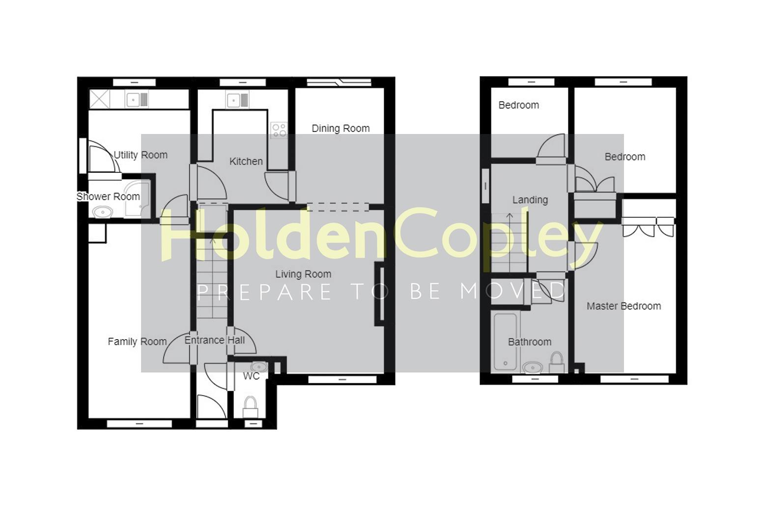 Floorplan for Windmill View, Colwick, Nottinghamshire, NG2 4EE