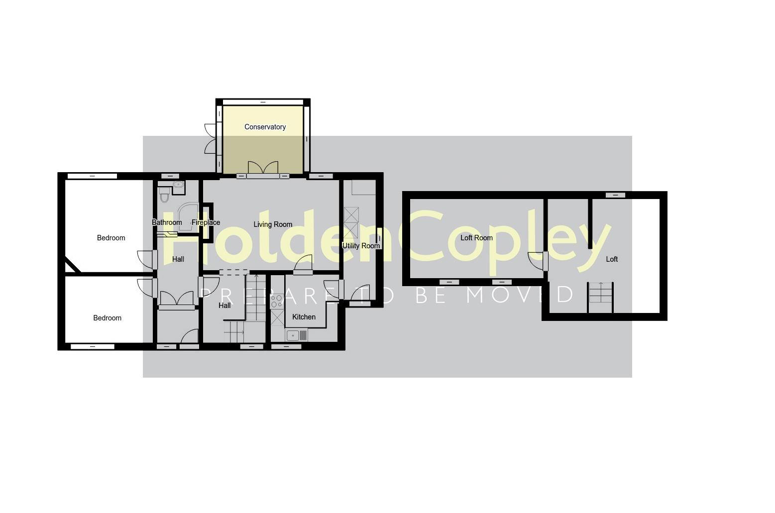 Floorplan for Charnock Avenue, Wollaton Park, Nottinghamshire, NG8 1AE