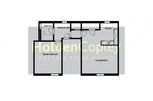 Floorplan for City View, Cranmer Street, Nottingham, Nottinghamshire, NG3 4HN