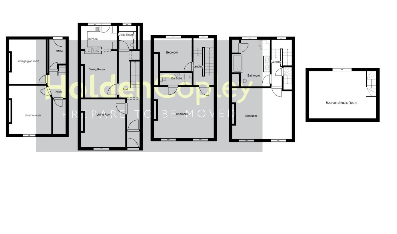Floorplan for Mansfield Road, Nottingham, Nottinghamshire, NG