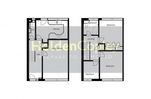 Floorplan for Wilford Crescent West, The Meadows, Nottinghamshire, NG2 2FT