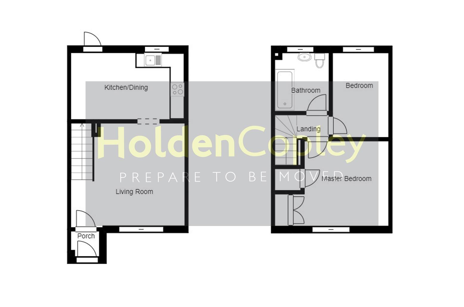 Floorplan for The Elms, Colwick, Nottinghamshire, NG4 2FW
