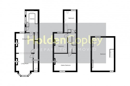 Floorplan for Carlyle Road, West Bridgford, Nottinghamshire, NG2 7NQ