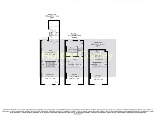 Floorplan for Mundella Road, The Meadows, Nottinghamshire, NG2 2EQ
