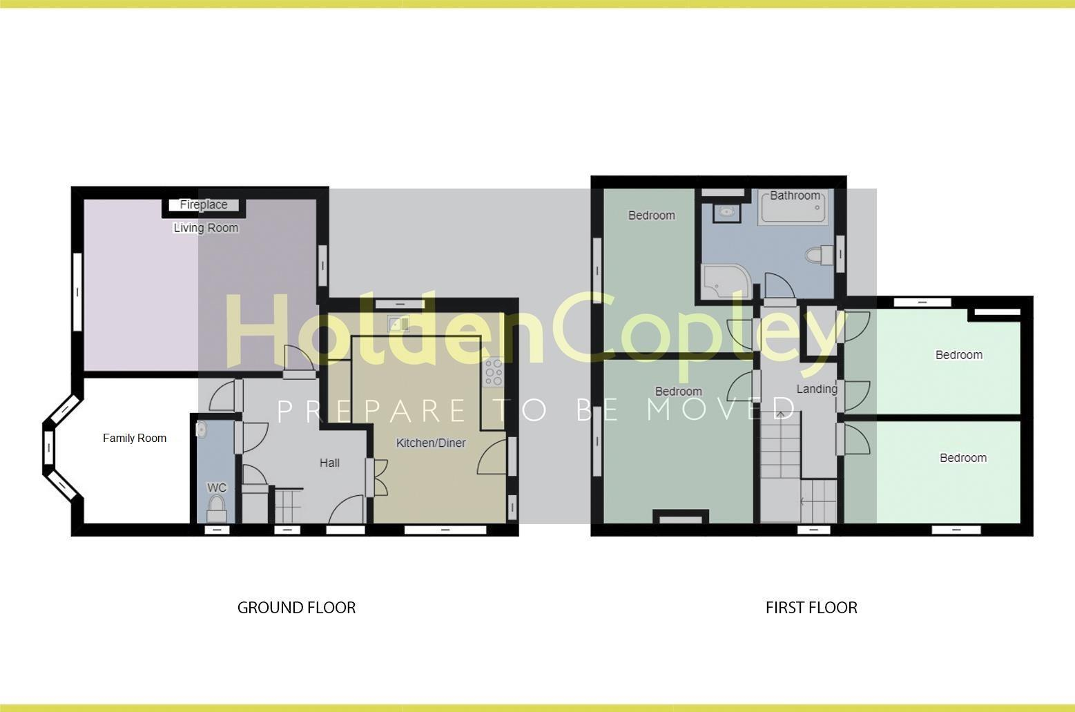 Floorplan for Vale Road, Colwick, Nottinghamshire, NG4 2GJ