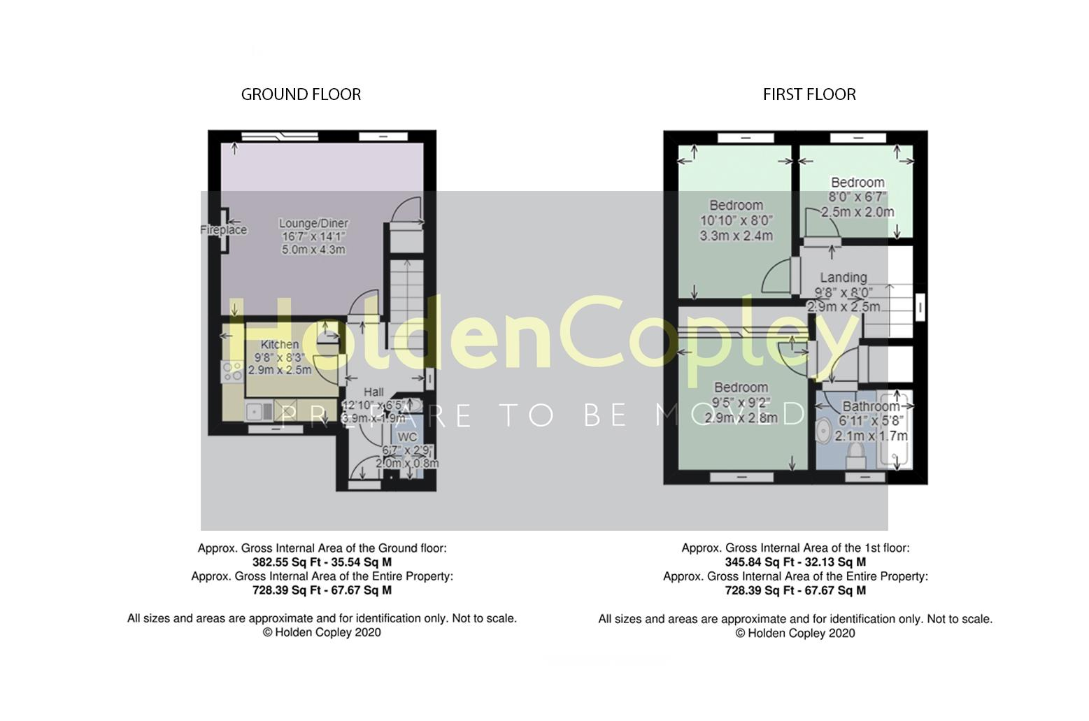 Floorplan for Hotspur Drive, Colwick, Nottinghamshire, NG4 2BS