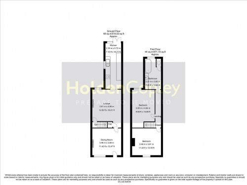Floorplan for Glapton Road, The Meadows, Nottinghamshire, NG2 2FG