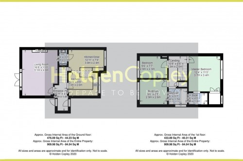 Floorplan for Northwold Avenue, West Bridgford, Nottinghamshire, NG2 7JD
