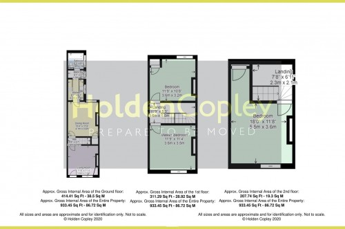 Floorplan for Wilford Crescent West, The Meadows, Nottinghamshire, NG2 2EZ