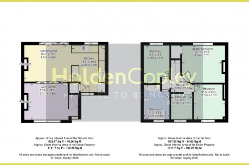 Floorplan for Selby Lane, Keyworth, Nottinghamshire, NG12 5AL