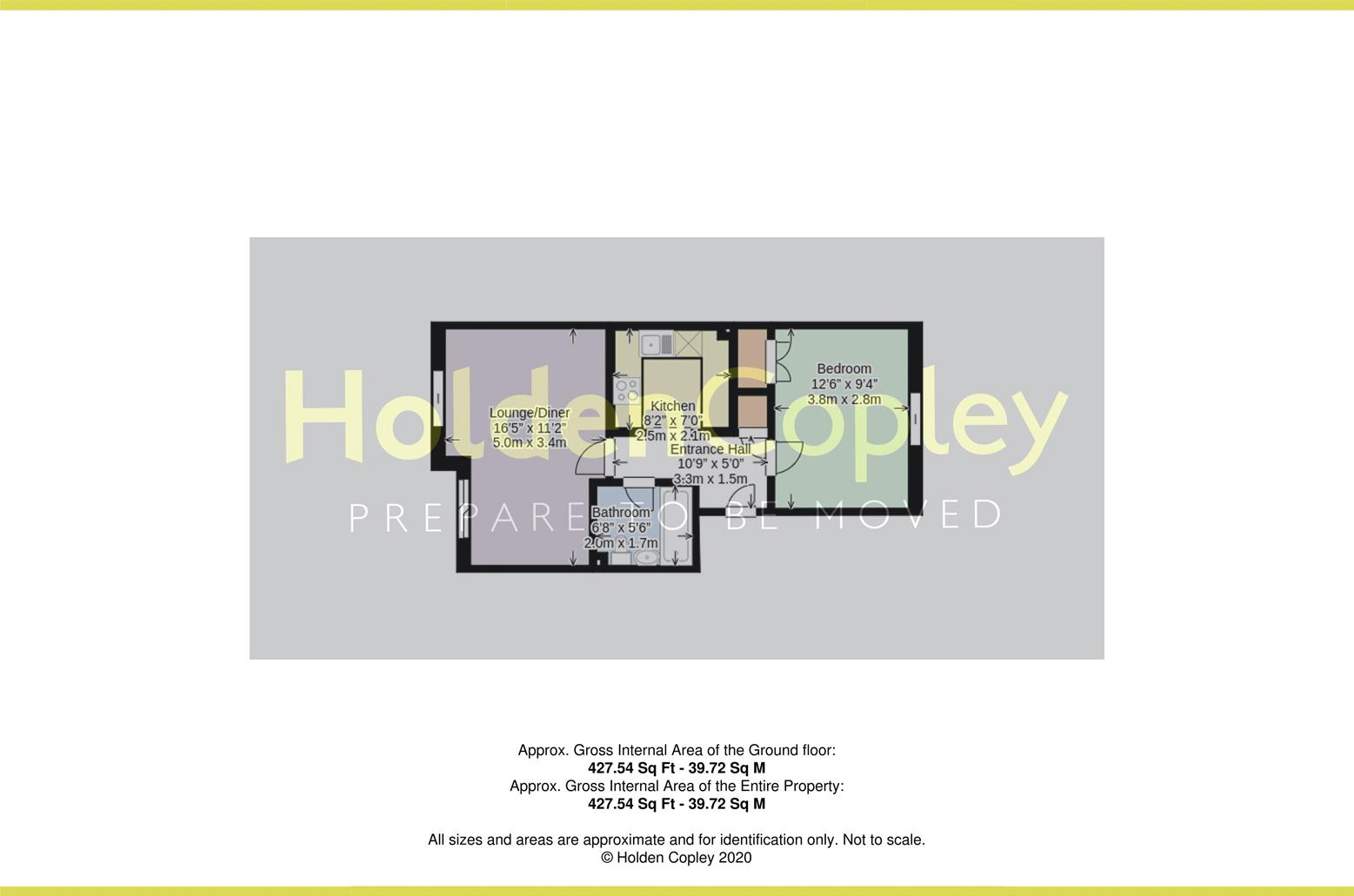 Floorplan for Plover Wharf, Castle Marina, Nottinghamshire, NG7 1TL