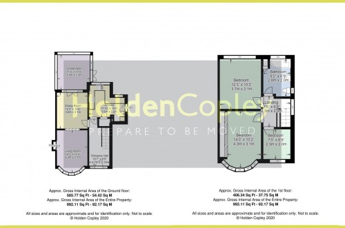 Floorplan for Maplestead Avenue, Wilford Village, Nottinghamshire, NG11 7AS