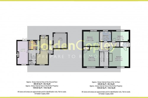 Floorplan for Burneham Close, East Bridgford, Nottinghamshire, NG13 8NT