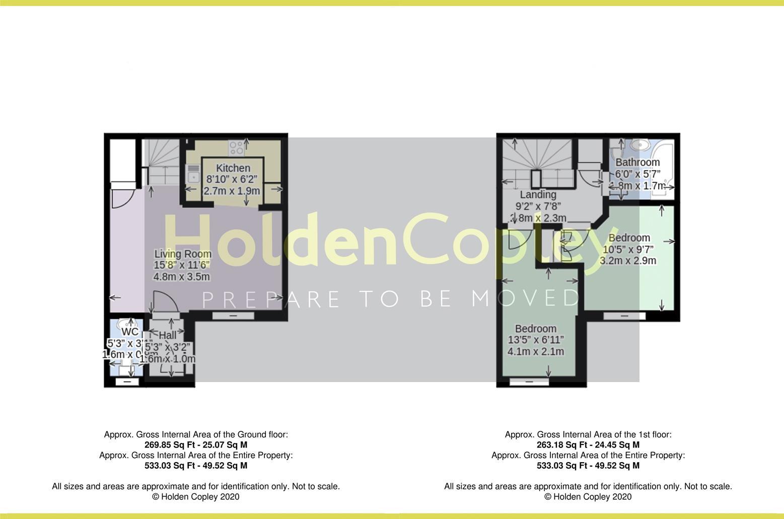 Floorplan for Stavely Way, Gamston, Nottinghamshire, NG2 6UH