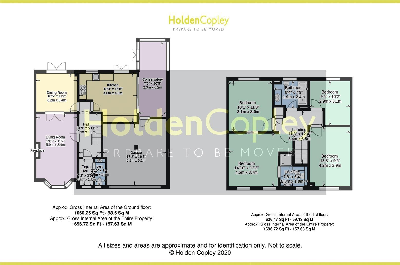 Floorplan for Ozier Holt, Colwick, Nottinghamshire, NG4 2DQ