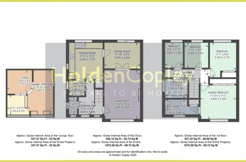 Floorplan for Syon Park Close, West Bridgford, Nottinghamshire, NG2 7ER