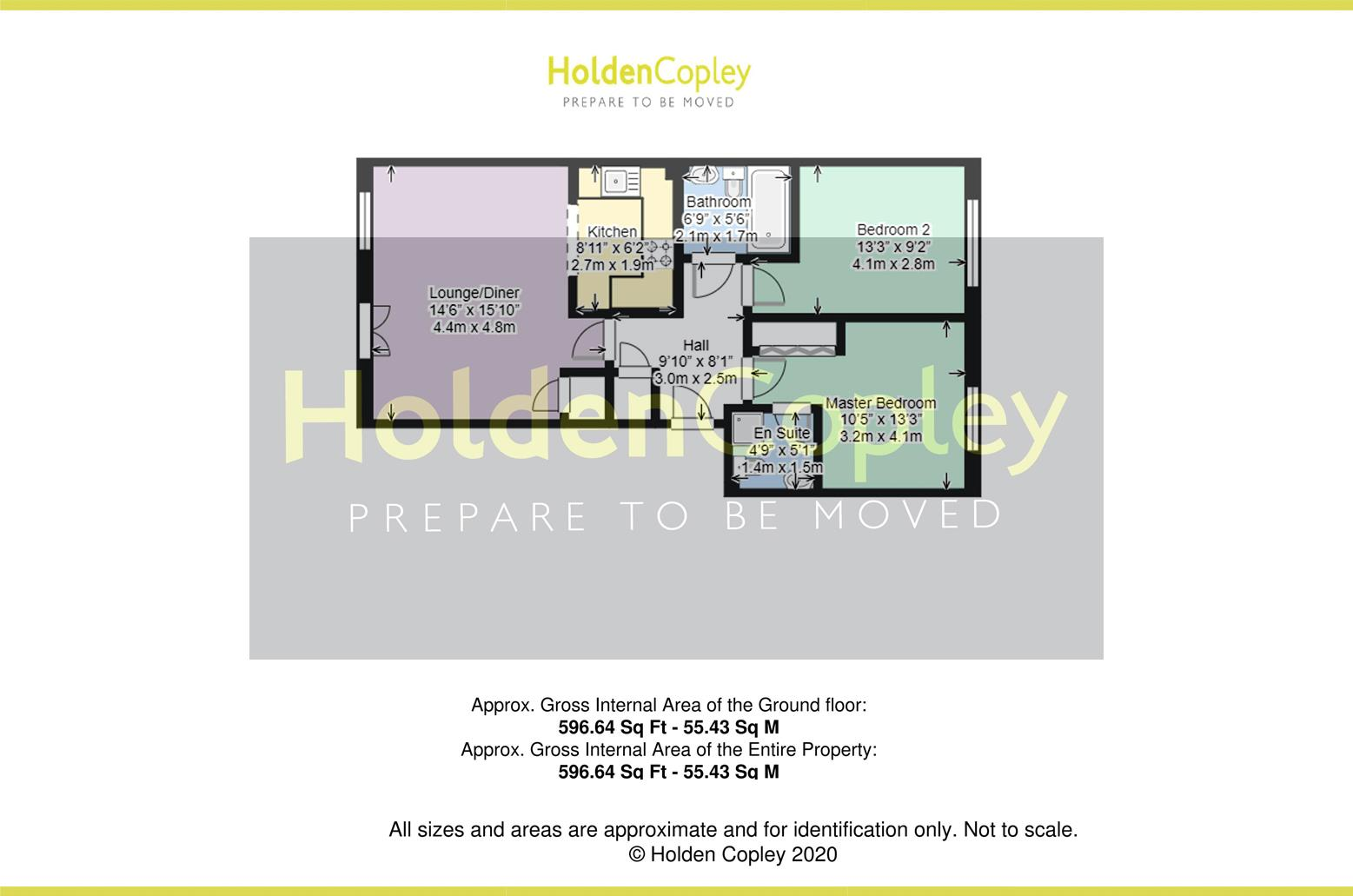 Floorplan for Caudale Court, Gamston, Nottinghamshire, NG2 6QN