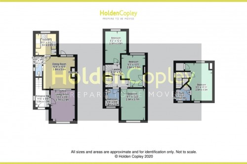 Floorplan for Julian Road, West Bridgford, Nottinghamshire, NG2 5AP