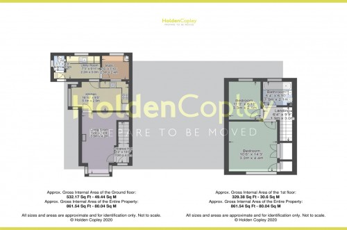 Floorplan for Tudor Close, Colwick, Nottinghamshire, NG4 2DR