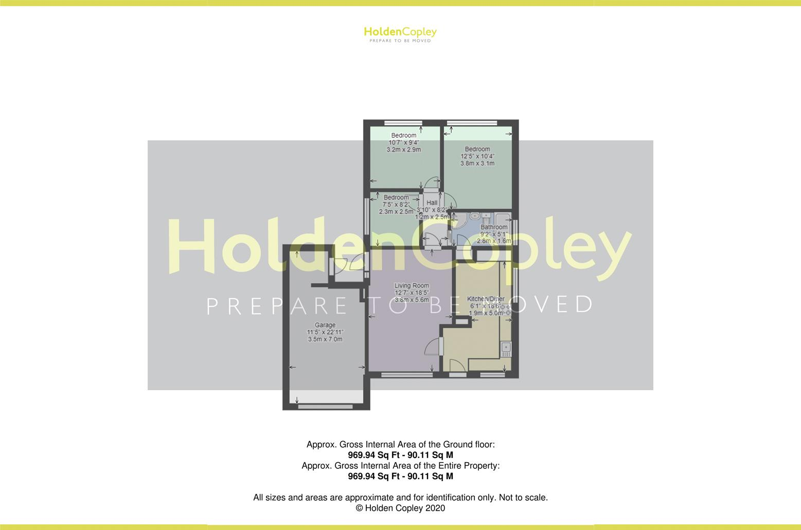 Floorplan for Grazingfield, Silverdale, Nottinghamshire, NG11 7FN