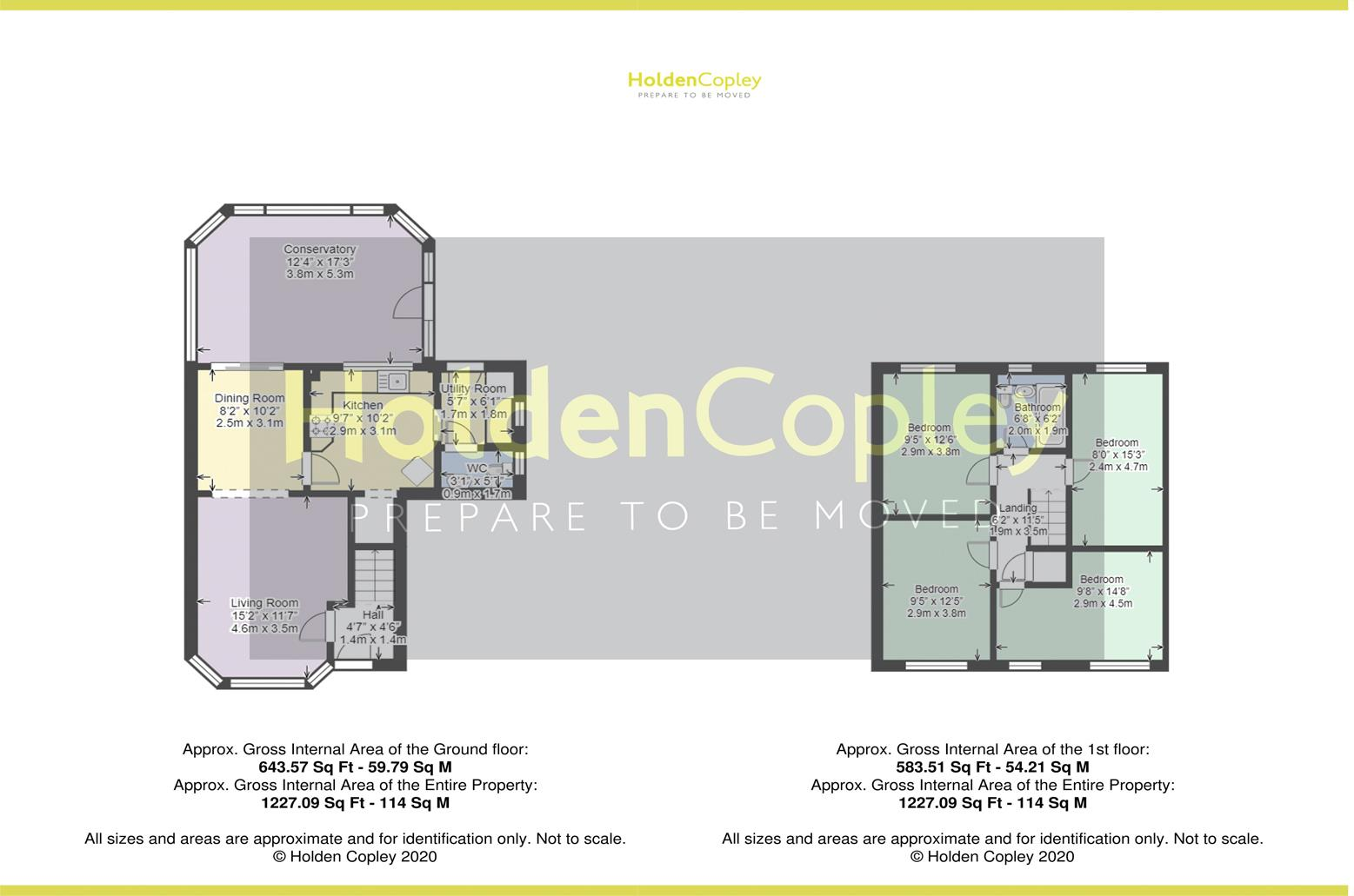Floorplan for Cottage Meadow, Colwick, Nottinghamshire, NG4 2DG