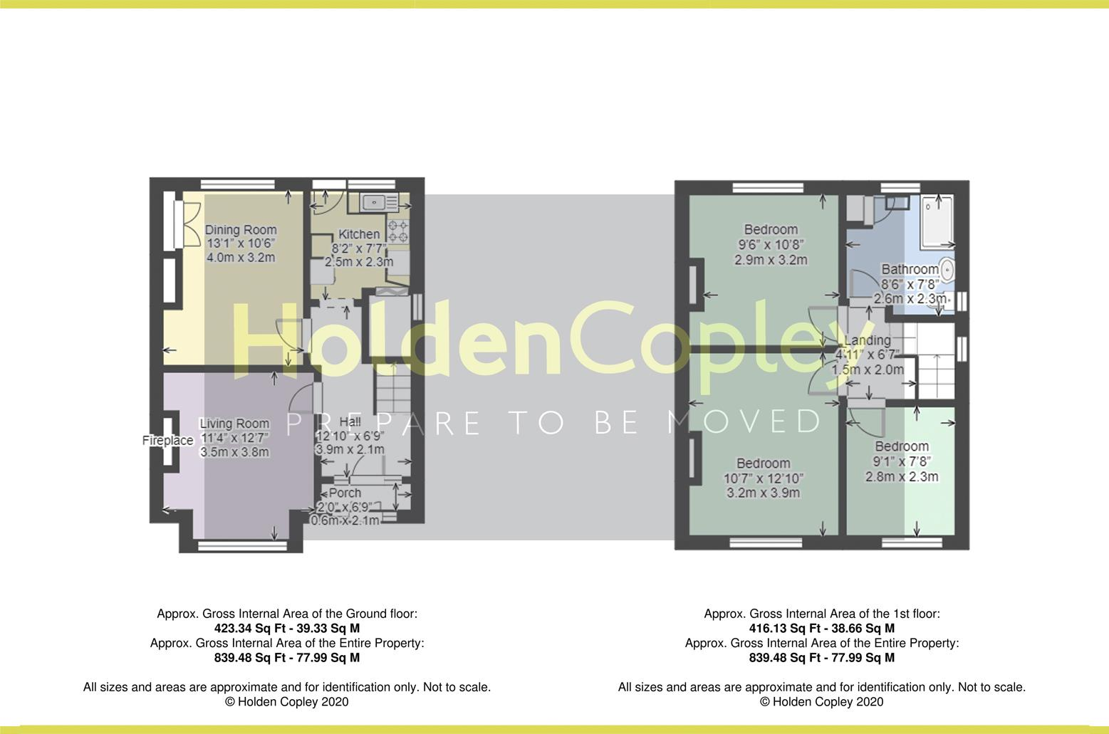 Floorplan for Hampton Road, West Bridgford, Nottinghamshire, NG2 7AJ