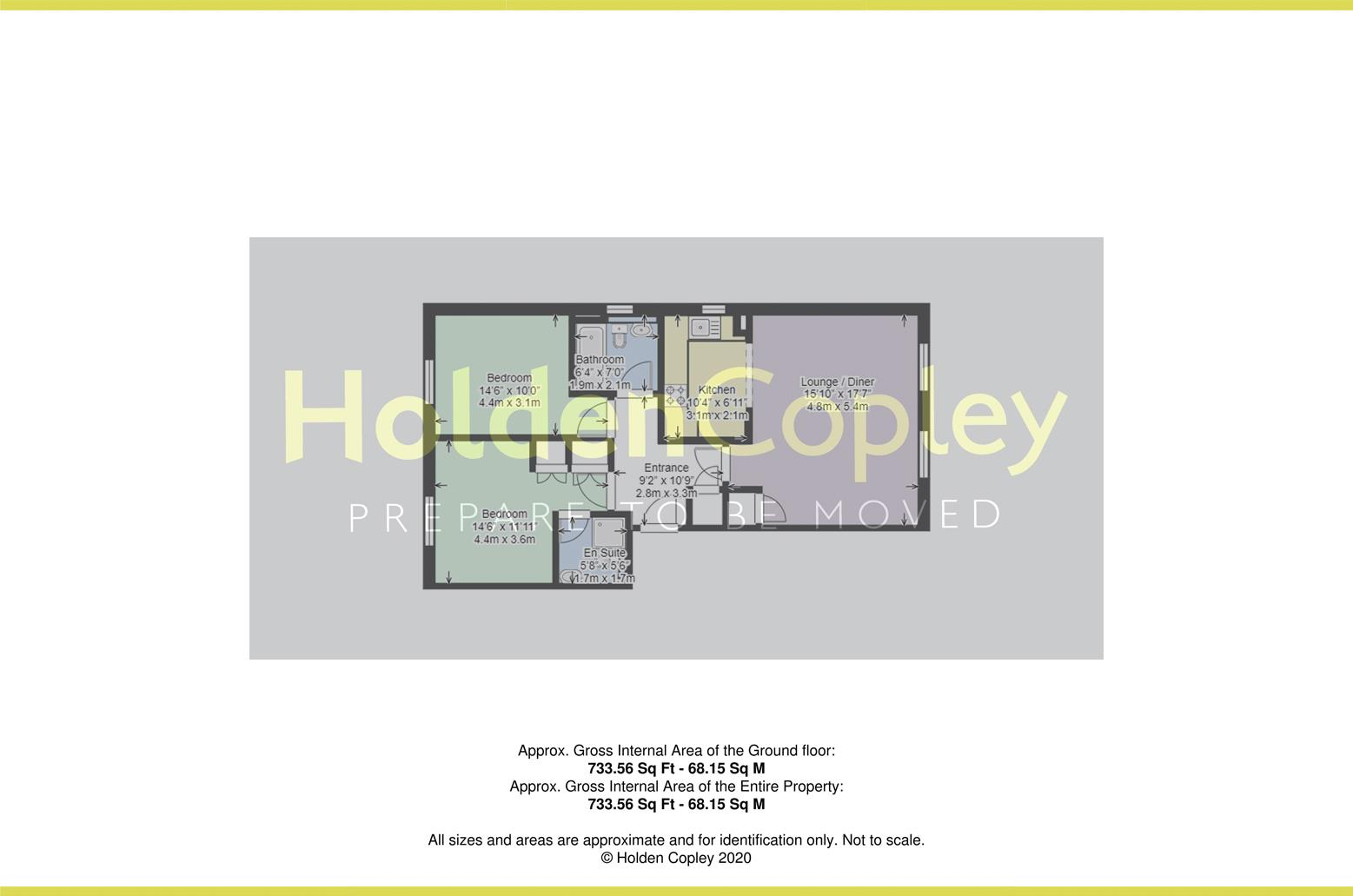 Floorplan for Stavely Way, Gamston, Nottinghamshire, NG2 6QR
